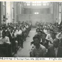 Fotografia del congresso del 1945, veduta del pubblico.  [ISMO, AFPCMO]