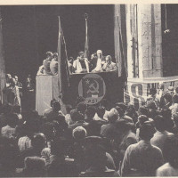 Orio Teodorani, Comunisti a Cesena. Storie, personaggi ed eventi del Partito Comunista cesenate 1920-1975, p. 456- festeggiamenti del PCI dopo la vittoria alle elezioni amministrative del 1975, giugno 1975