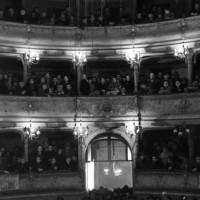 Archivio fotografico UDI Bologna_Teatro comunale di Crevalcore, fine anni Quaranta - primi anni Cinquanta
