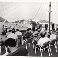 Fondo Fotografico Michele Minisci- inizativa sull'agricoltura durante il Festival de L'Unità, anni '80 (1986?)
