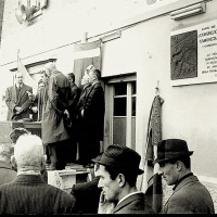 Fotografia dal 45° anniversario della fondazione del Partito Comunista Italiano, presso Mulini Nuovi [ISMO, AFPCMO]