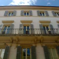2017. Rimini, Corso d'Augusto,118. La facciata del palazzo dove ebbe sede la Federazione del PCI dal 1950 al 1960