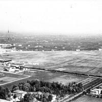 Veduta aerea del Campovolo nel 1942