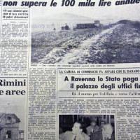 L'Unità Romagna, 8 febbraio 1962, p. 4- articolo relativo alle difficili condizioni economico-sociali del territorio di Galeata nei primi anni '60