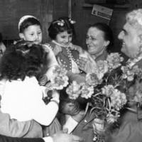 Archivio fotografico UDI Bologna_Iniziativa con Giuseppe Dozza, 1956