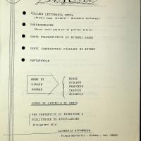 Consigli musicali della libreria Rinascita anno 1960-1961 [ISMO, APCMO]