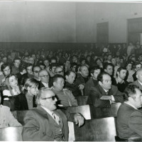 Conferenza presso la Sala Verdi sul caso Valpreda, 16 ottobre 1972