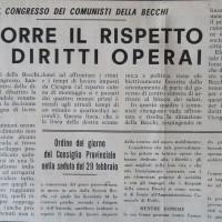 Il Forlivese, 10 marzo 1964, p. 2- articolo sulla vertenza Becchi del 1964, febbraio/marzo 1964