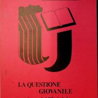 """Copertina delle proposte di lettura sulla """"questione giovanile"""" della Libreria Rinascita per il festival dell'Unità nazionale del 1977  [ISMO, APCMO]"""