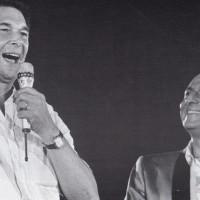 Walter Zanotti, L'Unità, le sue feste, la città, p. 240- Luciano Lama duetta con Renzo Arbore, 1986