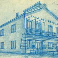 Santerno, nuova Casa del Popolo costruita nel 1954