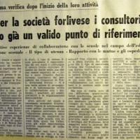 L'Unità Emilia Romagna, 31 marzo 1977, 10- articolo relativo ad una assemblea di verifica del funzionamento dei primi consultori del territorio forlivese, marzo 1977