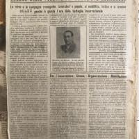 La Lotta, organo delle Federazioni comuniste romagnole. Stampato dalla tipografia a pedali di Conselice