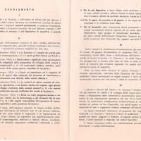 """Centro Gramsci, regolamento """"Concorsi culturali 1963"""""""