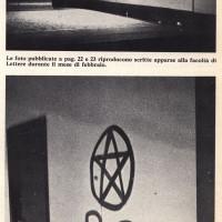 Scritte all'Università di Bologna nel 1977