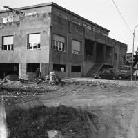 Febbraio 1980. Ospedaletto. L'immobile della Casa del Popolo ormai ultimato