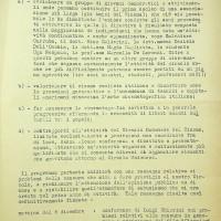 Attività del circolo Pasinetti per l'anno 1953-1954, relazione a cura della Commissione cultura della federazione modenese del PCI [ISMO, APCMO]