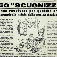 """""""650 """"scugnizzi"""" hanno ravvivato per qualche ora la monotonia grigia della nostra stazione"""" [""""La Verità"""", 1 febbraio 1947]"""