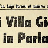 Interrogazione parlamentare dell'On. Luigi Borsari (Pci), 20 febbraio 1968