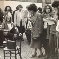 """Archivio fotografico UDI Forlì-Cesena_Mostra """"La città delle donne"""", anni Settanta"""