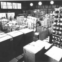 Il magazzino della Festa dell'Unità nazionale, 1977 [ISMO, AFPCMO]