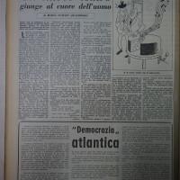 Articolo de «La verità» sul teatro di Massa  [La Verità, 8 novembre 1952]