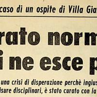 Gli abusi sui minori a Villa Giardini [L'unità, 9 aprile 1968]