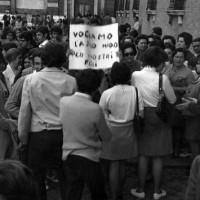 Prefettura di Ravenna, delegazione donne per approvazione bilancio, 24 aprile 1970