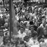Inaugurazione Asilo del Popolo a Torri di Mezzano, ottobre 1950