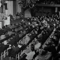 Anni '60. Riccione. Casa del Popolo. Congresso della CGIL