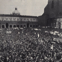 Manifestazione in Piazza Maggiore nel 1977, La Lotta n.2 maggio 77