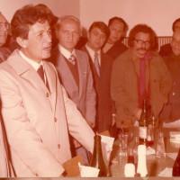 Il segretario Berlinguer all'inaugurazione della sede, novembre 1973
