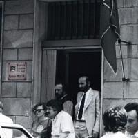 Ingresso della federazione PCI in viale Zappi
