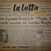 L'apertura del festival nel 1954