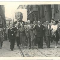 Sfilata di apertura della festa provinciale del 1947 [ISMO, AFPCMO]