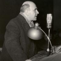 Intervento di Cesare Campioli al V congresso della cooperazione reggiana, presso il teatro Municipale (anni '50)