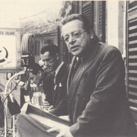 Orio Teodorani, Comunisti a Cesena. Storie, personaggi ed eventi del Partito Comunista cesenate 1920-1975, p. 293- comizio di Palmiro Togliatti dal balcone del Municipio di Forlì, 20 maggio 1951