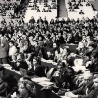 2 febbraio 1991. Rimini, padiglione fieristico. Delegati al XX° Congresso