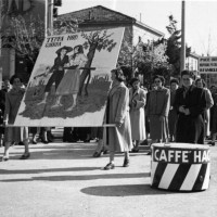 Archivio fotografico UDI Bologna. Imola 8 marzo 1950