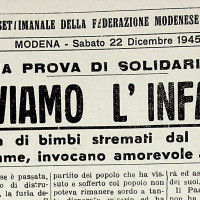 """""""Salviamo l'infanzia"""" [""""La Verità"""", 22 dicembre 1945]"""