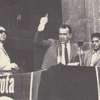Orio Teodorani, Comunisti a Cesena. Storie, personaggi ed eventi del Partito Comunista cesenate 1920-1975, p. 416- comizio di Pietro Ingrao durante la campagna elettorale del PCI per le elezioni politiche del 1972, aprile 1972