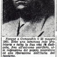 """Articolo de """"La Nuova Scintilla"""", 27 gennaio 1946"""