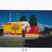 L'ingresso al Campovolo da via dell'Aeronautica con la nuova denominazione di Festareggio nel 2004