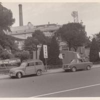 Fondo Fotografico Michele Minisci- accampamento degli operai della Mangelli in presidio contro l'annuncio di 847 licenziamenti, luglio 1972