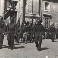 Piazza Garibaldi, Ravenna, 20 febbraio 1945
