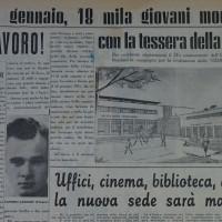 «La Verità», articolo sulla futura Casa del giovane [La Verità, 18 dicembre 1954]