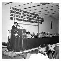 Casa dello Studente, giugno 1973. Convegno federazione provinciale Pci