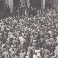 Orio Teodorani, Comunisti a Cesena. Storie, personaggi ed eventi del Partito Comunista cesenate 1920-1975, p. 289- comizio di apertura della campagna elettorale del PCI per le elezioni politiche, 19 aprile 1953
