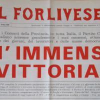 l Forlivese, 17 giugno 1975, p. 1- testata dell'edizione straordinaria del forlivese con i risultati delle elezioni amministrative del 1975, giugno 1975
