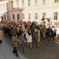 Copparo. Manifestazione contro la chiusura degli zuccherifici